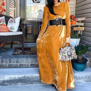 Dresses & Skirts - Fall mustard dress